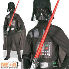 Darth Vader Boy's Star Wars Halloween Fancy Dress Kids Costume Child Outfit