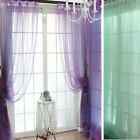 Sheer Voile String Door Curtain Window Room Curtain Divider Scarf Vogue