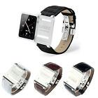 Leather Aluminum Watch Band Strap for iWatchz iPod Nano 6 6th Gen New Store