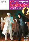Sew & Make Simplicity 4083 SEWING PATTERN - Costumes STEAMPUNK DICKENS SCROOGE