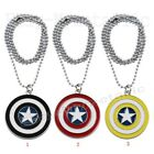 Super Hero Captain America Shield PVC Pendant Necklace Cosplay