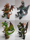 Plastic DRAGONS - 4 Types, Collect Them All (HGL)(Kids, Present, Xmas, Toy)