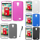 For LG Access LTE L31 F70 TPU Soft Candy Gel Case Phone Cover Stylus NEW