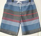 Gap~ Men's New Blue Striped  Swim Shorts $34.95~Size XXL~NWT