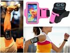 Slim Pink Sports Gym Running Armband Pouch Cover Case For Motorola Droid Turbo