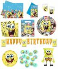 SPONGEBOB'S PARTY Birthday PARTY RANGE (Partyware/Celebration/Decoration)