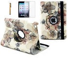 360 Rotating Magnet Leather Case Smart Cover Stand for iPad 2 3 4 Mini 1 2 3 Air