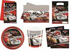Disney CARS SILVER EDITION Birthday PARTY RANGE - Tableware Decorations Supplies