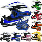 Leopard LEO-X16 Junior Kids Motorbike Motocross MX Helmet Gloves Goggles Set