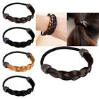 Fashion Womens Girl Braid Wig Elastic Hair Band Rope Scrunchie Ponytail Holder