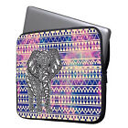 "Cute Elephant 11"" 13"" 15"" Laptop Neoprene Waterproof Sleeve Case Soft Bag Cover"