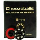 Cheezeballs Goudas 7mm or 8mm Roller Skate Bearings Pack of 16