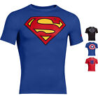 UNDER ARMOUR 1244399 Superman Batman Captain America Spiderman Tee Shirt Shirts