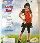 Lady Bug Ladybug Child Costume Dress S M L NIP