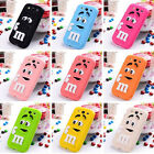 1x Soft Gel 3D Animal Silicone Case Cover For iPhone 4S 5S 6 Plus ipod touch 4 5