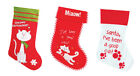 Cute Cat Kitten Pet Luxury Christmas Xmas Stocking 3 Designs To Choose From