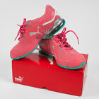 Puma Women Cell Riaze Cross Sport Training Running Shoes Calypso Coral/Green New