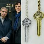Detective Sherlock Sherlock Holmes The Key to 221B Vintage Chain Necklace FHRG