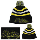 Young & Reckless Men's Logo Embroidered Knit Pom Beanie