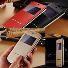 """Luxury Hybrid Metal Bumper Leather Case Cover Protection for iPhone 6 4.7"""""""