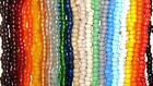 100 Glass Crow Beads 9 x 6 mm  MANY COLORS AVAILABLE