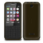 NEW SMOKE BLACK HYDRO GEL CASE COVER SKIN FOR NOKIA 225