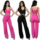 Women SEXY V-Neck Backless Bandage Jumpsuit & Romper Trousers Playsuit Clubwear