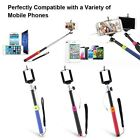Audio Cable Control+Extendable Handheld Stick Monopod For Samsung Iphone 6 Plus