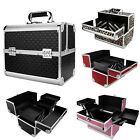 Extra Large Professional Aluminium Cosmetic Make Up jewelry Vanity Saloon Box