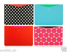 """Official Kate Spade Macbook Air 11"""" inch Case Sleeve - Blue/Green/Red/Dots NEW"""