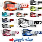 2016 100% PERCENT STRATA MOTOCROSS GOGGLES with GSO ROLL OFF CANISTERS mx mtb