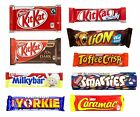 6 x NESTLE CHOCOLATE (Huge Range) Sweet Shop (UK/British/Candy/Bars/KitKat/Milk)