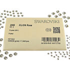Wholesale Swarovski Crystal Clear 2058 Foiled Flat Back Rhinestones Crystals