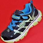NEW Boys Youth SKECHERS X-CELLORATOR 95360 Black/Blue Athletic Sneakers Shoes