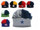 NFL Flair Hair Knit Beanie Hat Cap