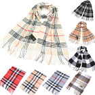 Women Long Cashmere Blend Academy Style Shawl Wrap Scarf Shawls Scarves Stole