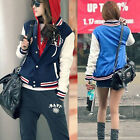 Fashion Baseball Jackets Coats For women Jacket Coat Outwear 2 colors US JG