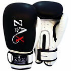 Rex Leather Boxing Gloves Sparring PunchBag Grappling Gloves Junior & Adults