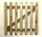 Wooden Garden Gates Round Top 900 & 1200mm High Quality Pressure Treated Timber