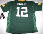 Nwt New Green Bay Packers Jersey Shirt NFL Football Aaron Rodgers 12 Green Boy