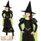 Wicked Witch of the West Girls Fancy Dress Wizard of Oz Book Week Kids Costume