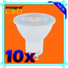 10 X 5W INTEGRAL LED GU10 BULB LAMP LIGHT WARM COOL WHITE PAR16 - NEW