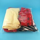 STRONG POLYTHENE PERFORATED CLOTHES STORAGE COVERS BAGS ANTI MOTH HANGERWORLD