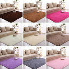 Plush Rectangle Living Room Bedroom Floor Mat Cover Carpet F