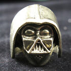 Stylish Punk Retro Vintage Bronze Star Wars Darth Vader Helmet Ring