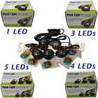 Jebao Submersible 1 3 4 5 6 LED Pond Spot Lights for underwater Pool fountain