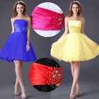 SMART Formal SHORT Prom Ball Gown Party GRADUATION HOMECOMING Dresses Plus Size