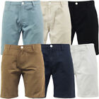 Mens Shorts Brave Soul Plain Chino Short 'Fern' New S M L XL