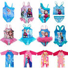 Girl Kid Swimwear Swimsuit Tankini Bathing Frozen Princess UV Sunsuit Protection