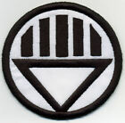 """3.5"""" Black Lantern Corps Classic Style Embroidered Iron-On Patch"""